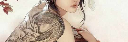 drage tatovering