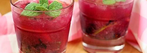 Berry Caipirosca drink opskrift