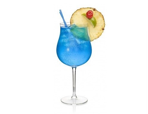 Blue lagoon drink opskrift for Blue lagoon cocktail