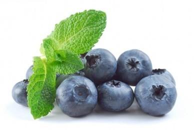 blåbær er sunde