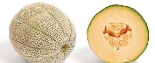 cantaloupe melon er sundt