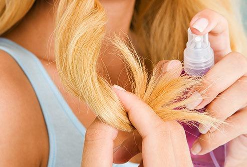 hårkur spaltede spidser
