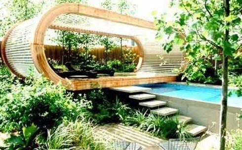 Hus have inspiration til havedesign haveredskaber for Jardines de casas particulares