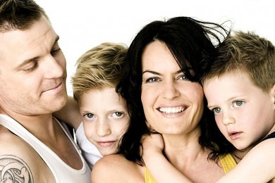 Bogen kernesund familie