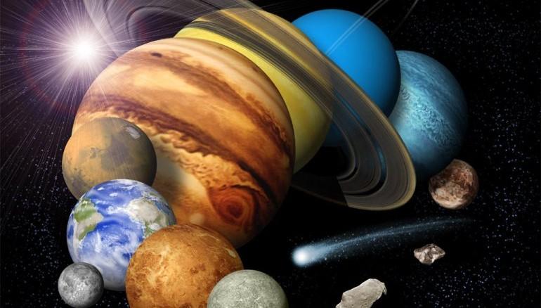 Ikke alle planeter, består af de samme grundstof