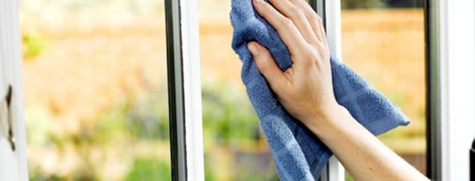 rene vinduer uden striber