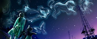 stjernebilleder og gammel overtro