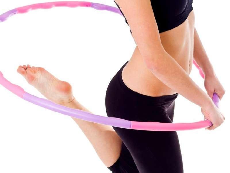 træning med hulahopring
