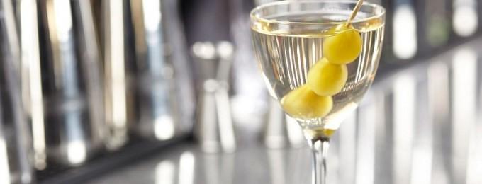 dry martini drink opskrift