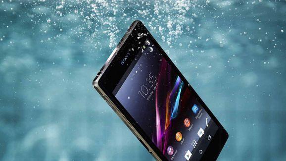 Vandtæt mobil telefon - Sony Xperia Z2