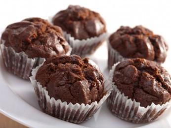 glutenfri chokolademuffins