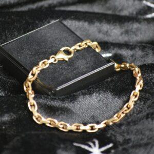 Ankerkæde i guld 8 karat