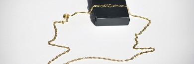 singapore guld kæde - Guld halskæde 8 karat
