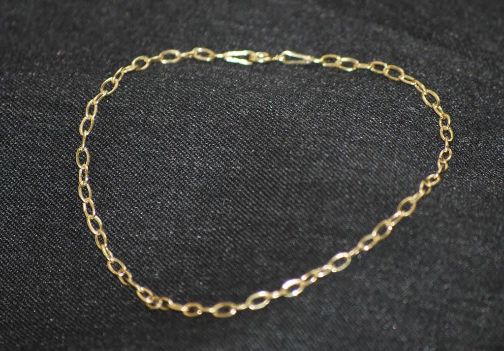 Guld ankerkæde i guld 8 karat guldarmbånd til kvinder