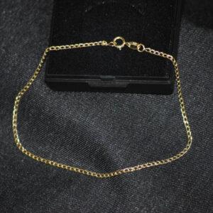 panser guld armbånd panserkæde 8 karat