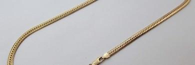 Guldkæde til mænd halskæde guld 8 karat