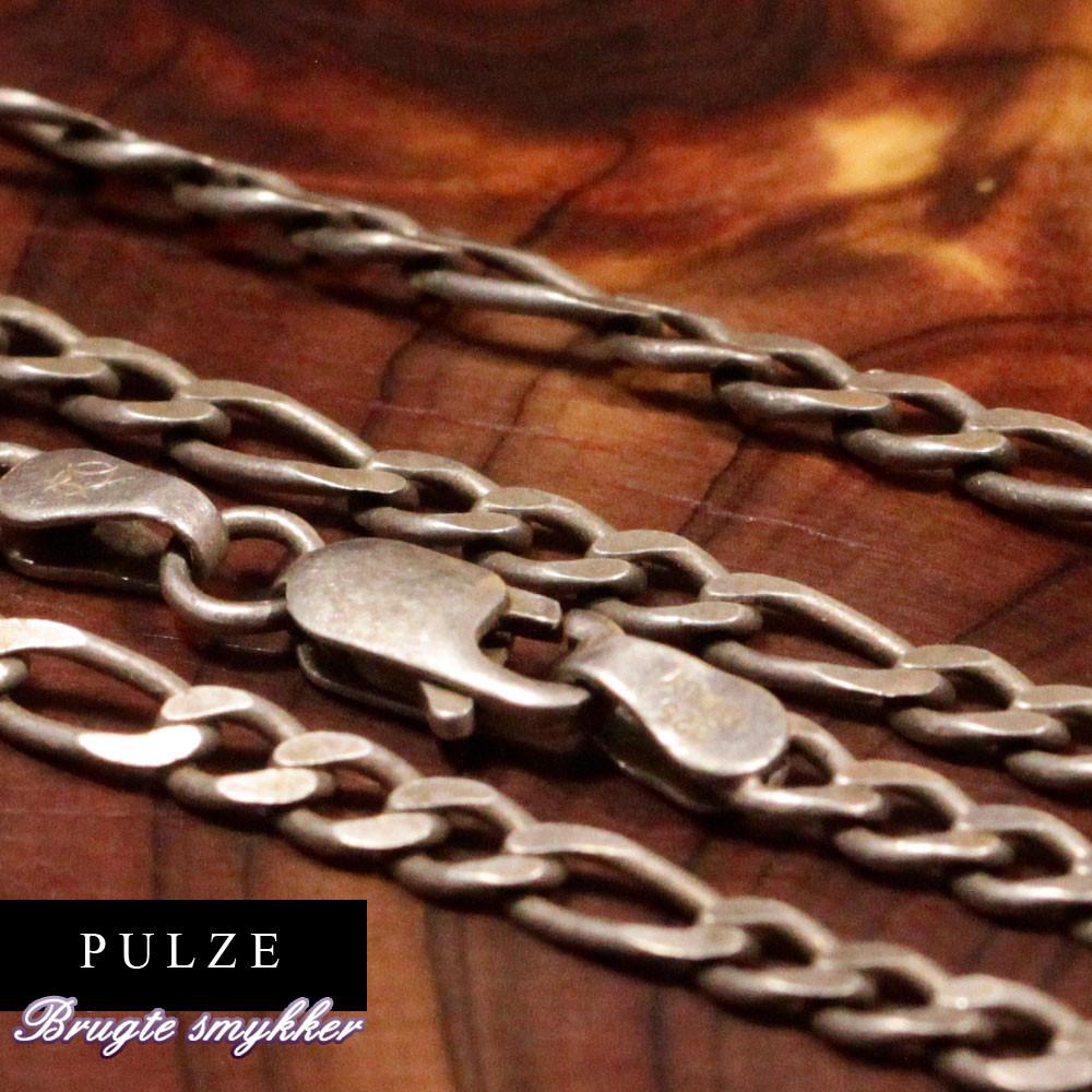 Figaro halskæde i Sterling Sølv
