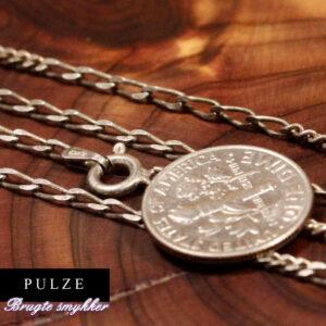 Sterling sølv 925 fin panserkæde