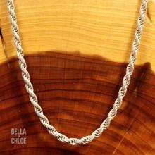 Smuk Rebkæde i 925 Sterling Sølv