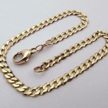Panser guld armbånd - Brugt guldarmbånd til kvinder & mænd