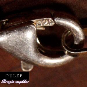 Sterling sølv 925 Rebkæde