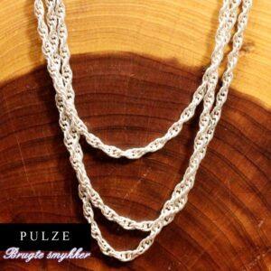 Steling Sølv Prince of wales halskæde