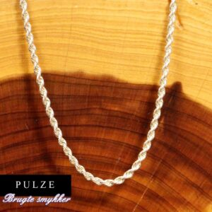 Sterling Sølv 2mm Bjørn Borg kæde