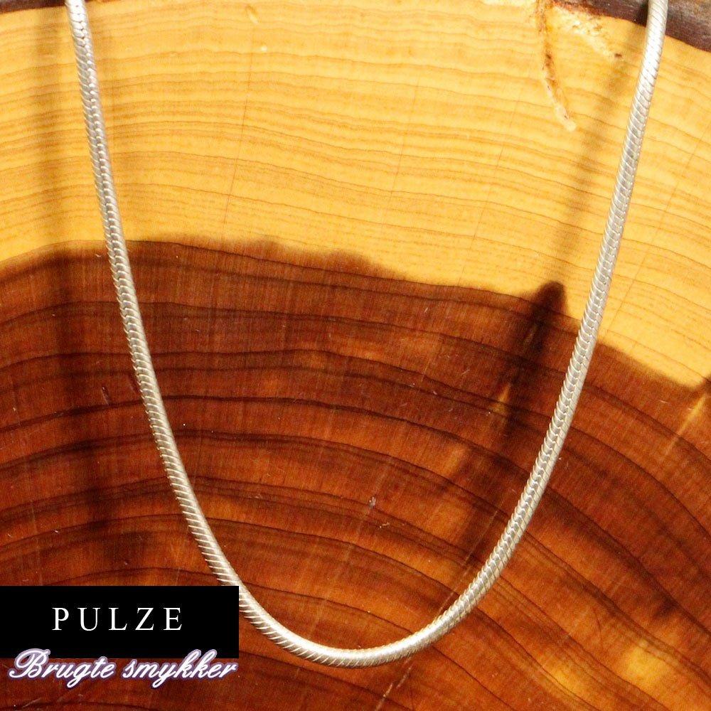Sterling Sølv 3mm. slange kæde