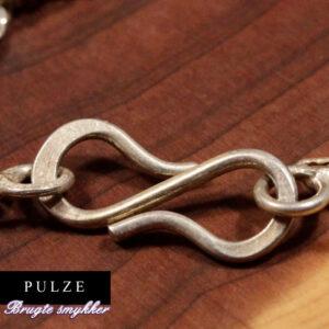 Sterling Sølv 925 Singapore kæde