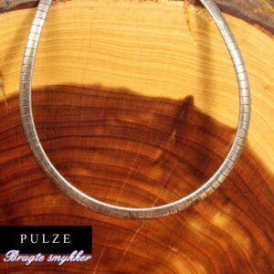 Sterling Sølv 925 Omega halskæde til kvinder