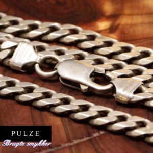 Sterling Sølv 925 Panserkæde