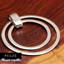 Elegant cirkel vedhæng i 925 Sterling Sølv