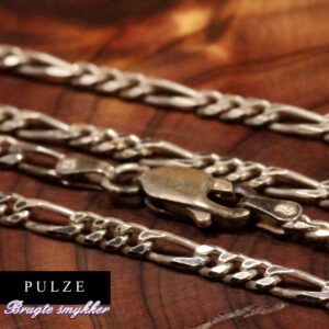 Sterling Sølv Figaro halskæde