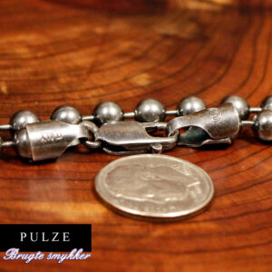 Sterling Sølv 925 Kuglekæde