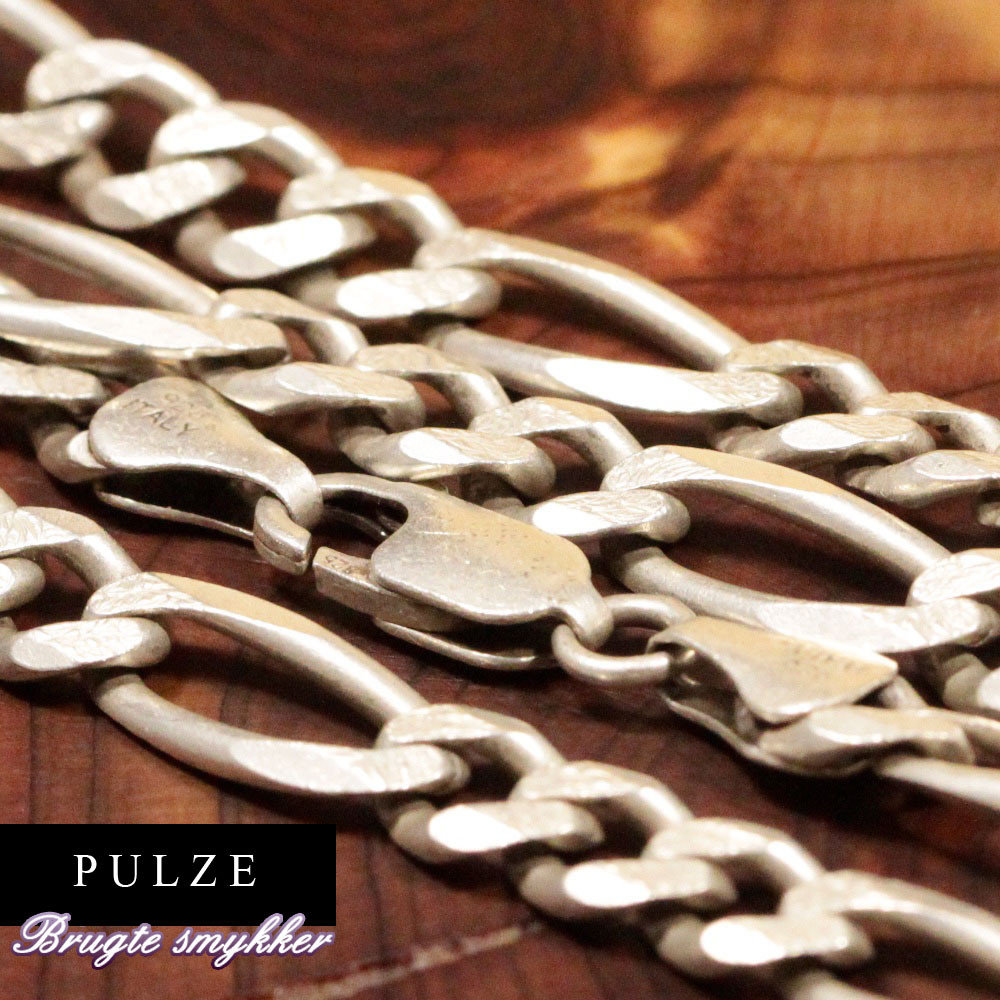 Sterling sølv Figaro halskæde til kvinder