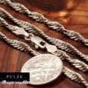 Singapore halskæde i 925 Sterling Sølv