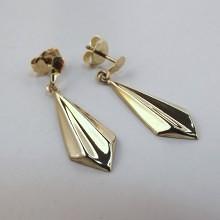 Billige Guldøreringe brugte øreringe i 8 karat guld
