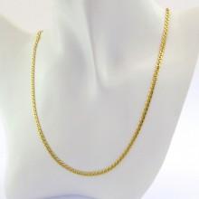 Designer halskæde i 14 karat guld