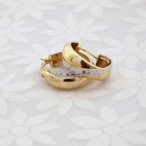 Guld kreoler 14 karat guldøreringe til kvinder brugte og billige guld kreoler
