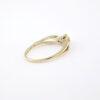 Brillant Solitaire Ring 0.25 CT brugt diamantring i 9 karat guld - Smuk brillantring billigt til salg