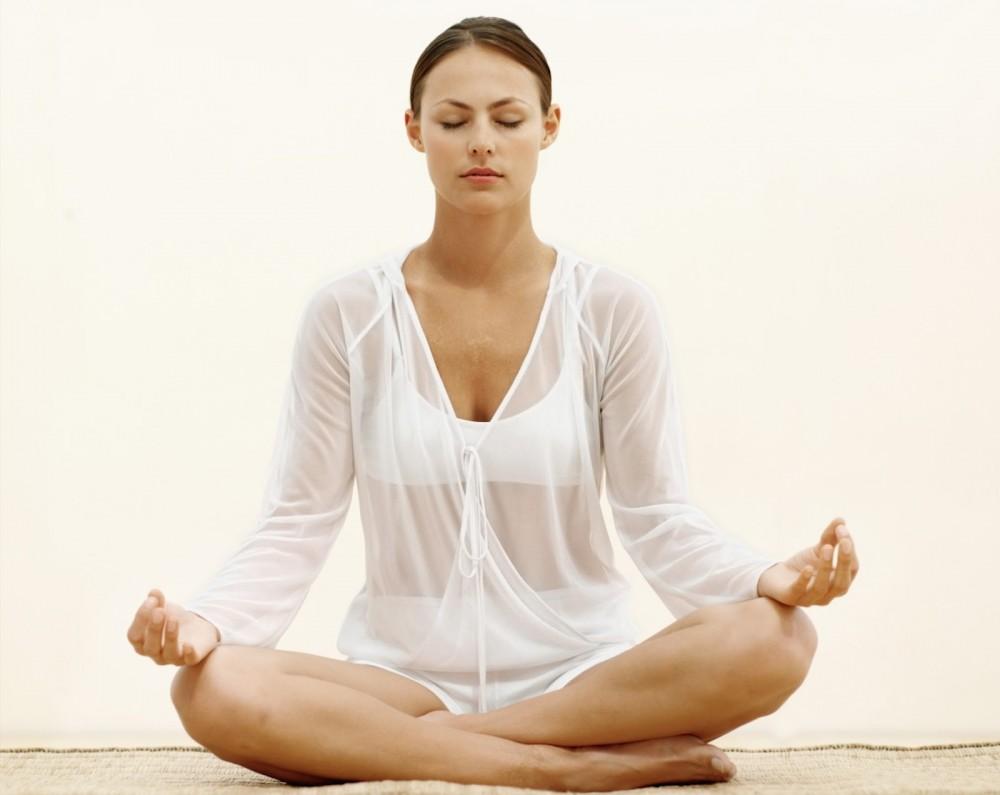 Meditation og stress - sund hud