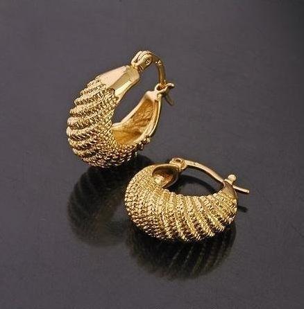 Brugte guld øreringe