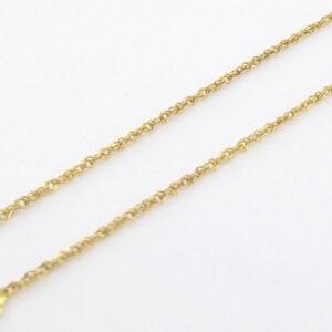 Brugt singapore guld halskæde - Billig Singapore guldkæde