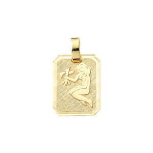 Jomfru guld vedhæng.