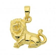 Stjernetegn Løve vedhæng skorpion charm i guld med stjernetegnet løven