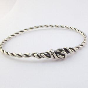 brugt sølv armbånd armring skalk museumsmykke fyrkat vikingesmykke sælges brugt og billigt