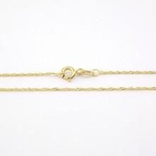 Fin Snoet Guld halskæde 14 karat
