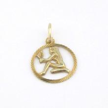 Stjernetegnet Jomfruen 8 karat guld vedhæng