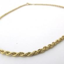 Brugt Bjørn borg 42 cm 8 karat billig guld halskæde