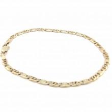 Guld armbånd 8 karat 19 cm. Brugte guldarmbånd til salg
